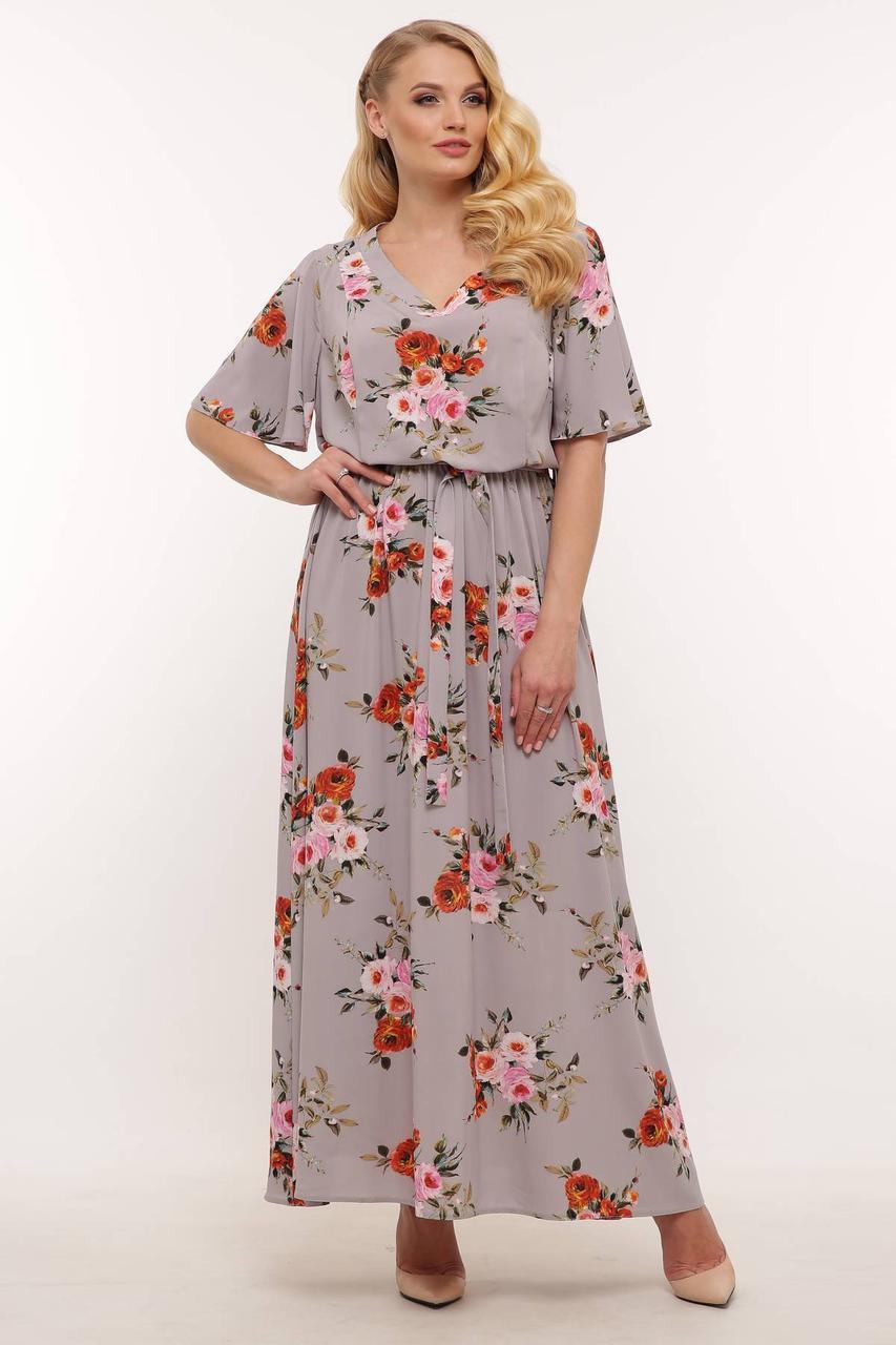 Сукня крепдышин з 54 по 60 розмір 2020