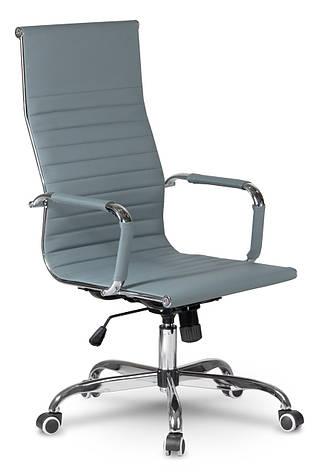 Кресло офисное современного дизайна Sofotel Tokio серый, фото 2
