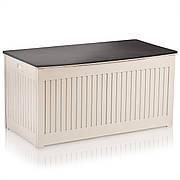 Коробка садовая 107 x 53 x 51 см 270 литров - черно-белая