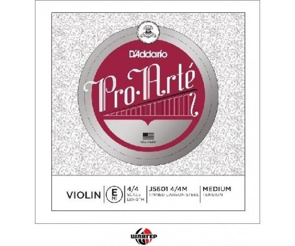 D`ADDARIO PRO ARTE J5601 4 / 4M Струна для скрипки Е