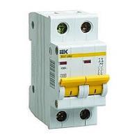 Автоматичний вимикач IEK ВА47-29М 2P 16А C 4,5кА (MVA21-2-016-C)
