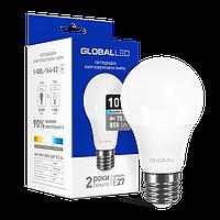 LED лампа GLOBAL A60 10W яркий свет 220V E27 (1-GBL-164-02)