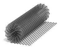 Сітка рябиця Цинк 2,5 мм 50х50мм, 1,2 м (10м) огороджувальна