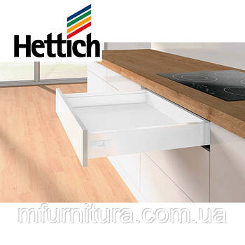 Выдвижной ящик InnoTech Atira, Push to open, L=350мм H=70мм, (белый) - Hettich (Германия)