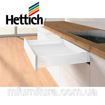 Выдвижной ящик InnoTech Atira, Push to open, L=470мм H=70мм, (белый) - Hettich (Германия)