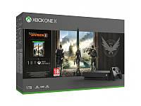 Microsoft Xbox One X 1TB + The Division2 + Game Pass 3 MC CYV-00264
