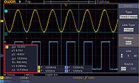 SDS1052 осциллограф 2 х 50МГц, фото 3