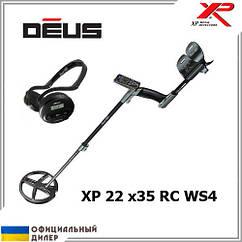 Металлоискатель XP Deus 22 x35 RC WS4