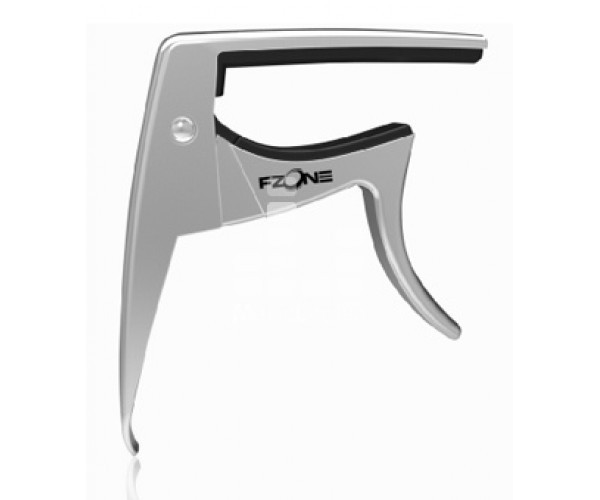 FZONE / XVIVE FC82 Silver Каподастр для укулеле металлический