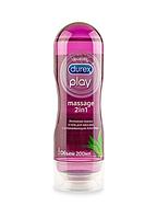 Интимный гель лубрикант Durex Play Massage 2 in 1 Aloe Vera 200 мл (5038483962657)