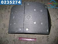 ⭐⭐⭐⭐⭐ Колодки тормозные МАЗ 5440, КАМАЗ задние правые (производство  ТАиМ)  5440-3502090