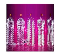 Збільшуючий багаторазовий презерватив  3d №4 (D) (12207)