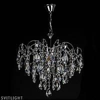Хрустальная люстра в спальню 2035/4 CR R Svitlight