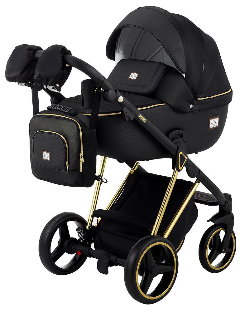 Дитяча коляска 2 в 1 Adamex Mimi Polar Gold Y836B