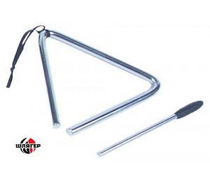 """PP DRUMS PP2008 Трикутник металевий 5"""""""