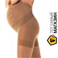 Компрессионное белье для беременных Solidea Wonder Model Maman 140ден, бежевые L (0352A4 SM24 Camel)