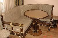 Уголок и столик из бамбука