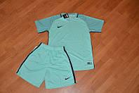 Футбольная форма Nike бирюзовая, ф4649