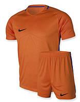 Футбольная форма Nike оранжевая