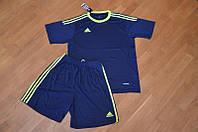 Футбольная форма Adidas темно-синяя