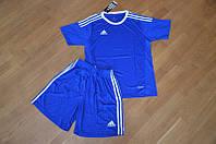 Футбольная форма Adidas синяя