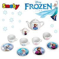 Оригинал. Чайный сервиз игрушечный Frozen Smoby 24804