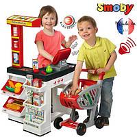 Оригинал. Интерактивный Супермаркет с тележкой Smoby 350203