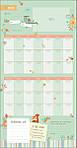 Мой первый год. Календарь со стикерами, фото 3