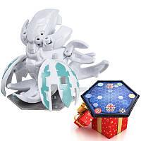 Бакуган Кракелиус белый + игровая арена Bakugan в подарок, фото 1