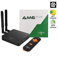 Медиаплеер Ugoos AM6 PLUS S922X  DOLBY VISION андроид тв бокс приставка 4GB + 32GB