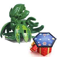 Бакуган Кракелиус зеленый + игровая арена в подарок