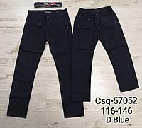 {есть:116,122,134,140,146} Котоновые брюки для мальчиков Seagull, Артикул: CSQ57052