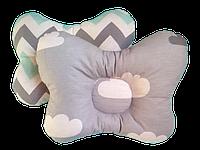 Детская ортопедическая подушка-бабочка Солодкий Сон 22х26 см.