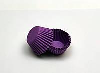 """Формочка бумажная для конфет """"Фиолетовая d 3 см h 2,5 см"""""""