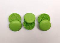 Полуфабрикат для печенья макарон зеленый, 3 шт