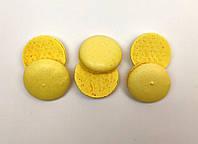 Полуфабрикат для печенья макарон желтый, 3 шт