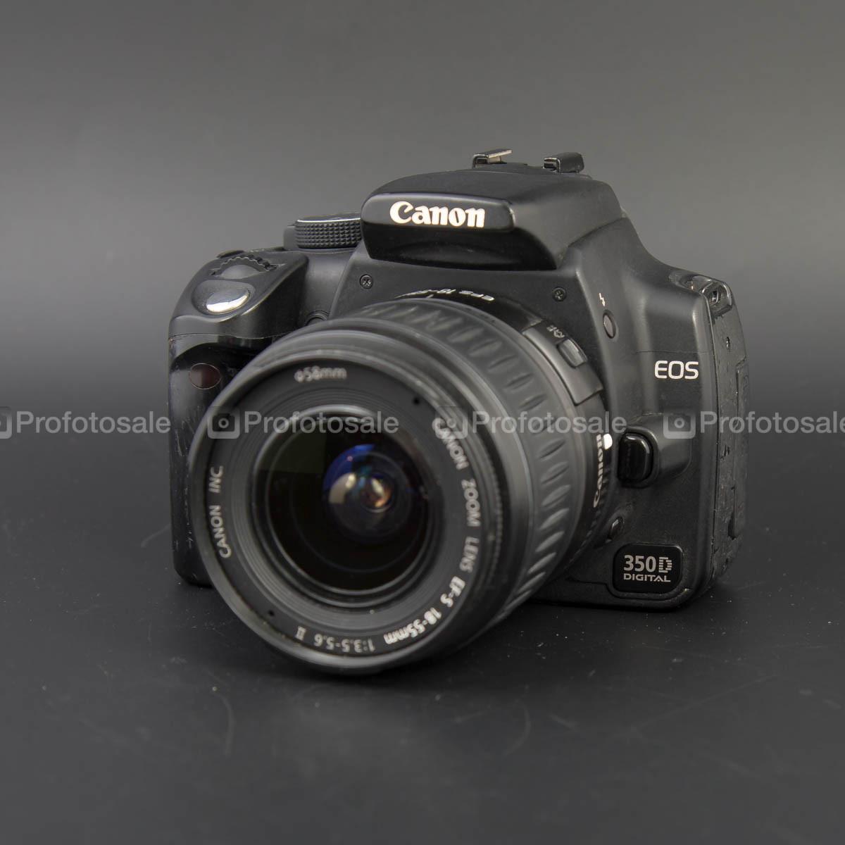 Canon EOS 350D kit 18-55 II