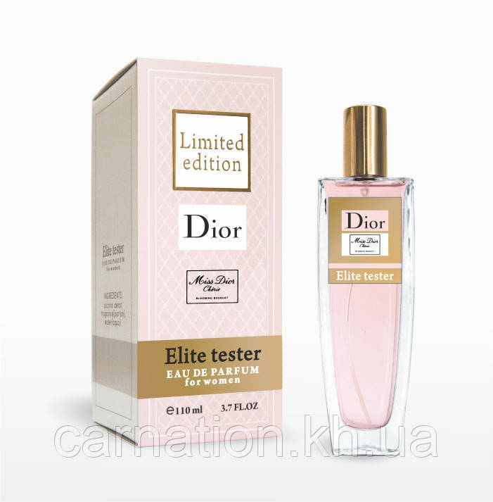 Elite Tester Limited Miss Dyor Blooming Bouquet   Edition 110 мл