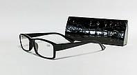 Очки для коррекции зрения женские полуободковые с дужками flex-система ( fm 1015) (SKU555)
