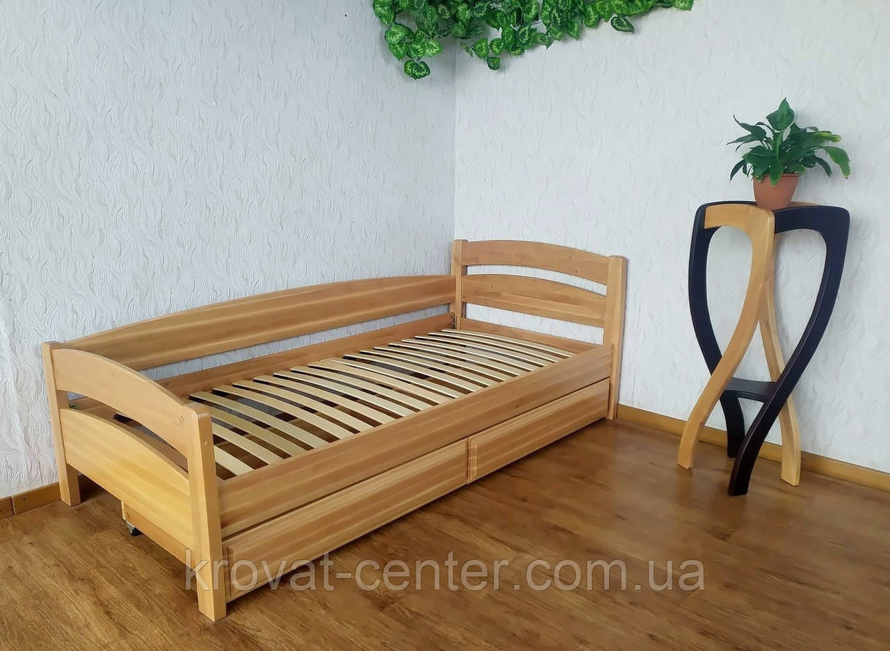 """Односпальная угловая кровать с ящиками от производителя """"Марта"""""""
