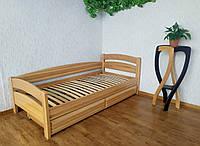 """Односпальная деревянная кровать с ящиками от производителя """"Марта"""""""