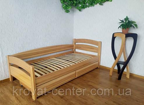 """Односпальная деревянная кровать с ящиками от производителя """"Марта"""", фото 2"""