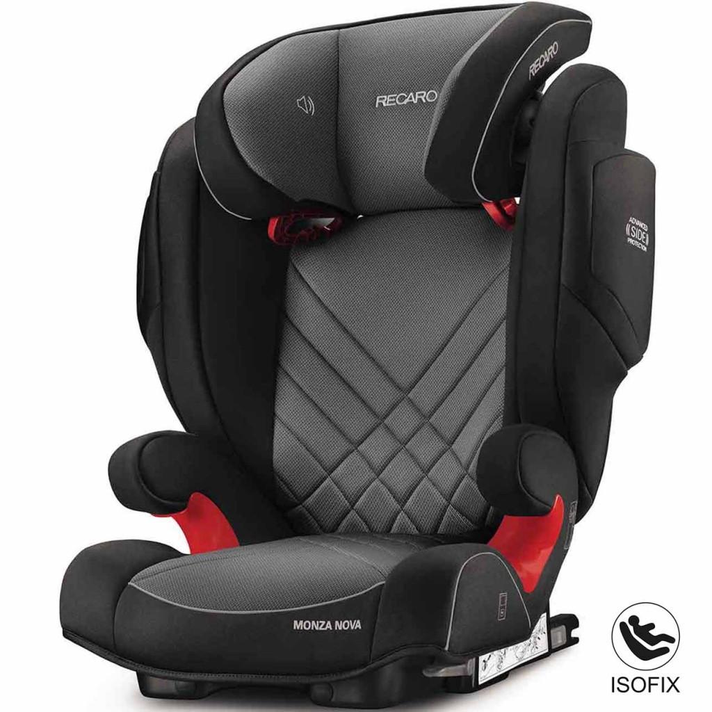 Автокресло RECARO Monza Nova 2 Seatfix Группа 2/3