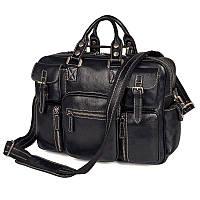 Многофункциональная сумка мужская для командировок из натуральной кожи Vintage 14204