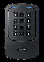 RFID считыватель с поддержкой NFC, BLE и кодонаборная клавиатура Suprema Xpass D2 (XPD2-GKDB)