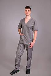 Костюм доктора хирургический мужской Серый