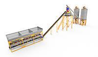 Стационарный бетонный завод 4BUILD Energy TAPE-72
