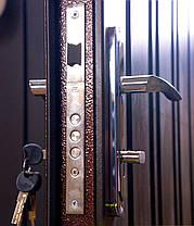 Входные двери на улицу Редфорт Арка метал/МДФ Винорит с притвором, фото 3