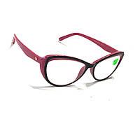 Коригуючі окуляри з прозорою лінзою скла 574 рмц 62-64