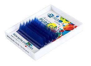 Ресницы Extreme Look Blue 0,07 L mix (9-13 мм)